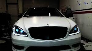 2010 mercedes s550 lights 2012 mercedes s550 amg wrapped in satin white by dbx