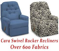 captivating rocker recliner swivel chairs with cara swivel rocker