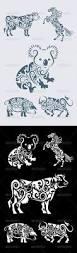 tattoo animal ornaments animal design henna animal floral