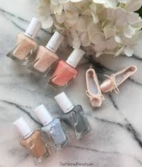essie gel couture 2017 ballet collection the polished pursuit