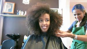 my first deva cut fiddleheads salon dc naturally batel youtube