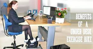 Diy Bike Desk Stationary Bike Desk Benefits Of Using An Desk Exercise Bike