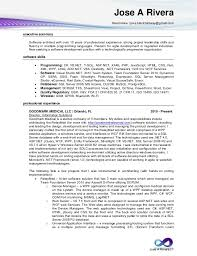 Junior Software Engineer Resume Sample by Jose A Rivera Developer Resume