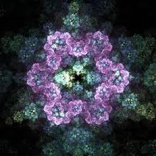 Snowflake Flower - electric snowflake flower by douglas james inktale