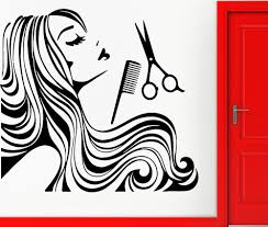 new arrival hair shop vinyl wall decal long hair sexy girl spa cheap glass decoration buy quality barber shop hair directly from china salon wall stickers suppliers new arrival hair shop vinyl wall decal long hair