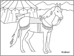 free printable horse coloring pages kids teachers