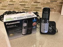 panasonic kx tg6821 cordless answering machine as new in
