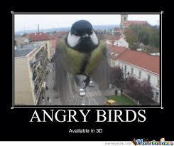 Angry Bird Meme - angry birds 3d by deybid meme center
