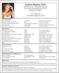 Actor Resume Skills Free Actor Resume Template Free Samples Examples U0026 Format