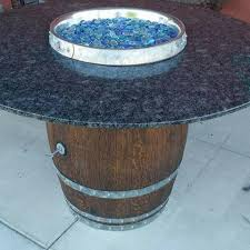 Wine Barrel Fire Pit Table by Napa Valley Wine Barrel Fire Pit Outdoor Propane Fire Pit