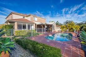 port stephens accommodation properties with a pool