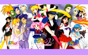 sailor moon group wallpaper moonkitty net sailor moon wallpapers widescreen page 14