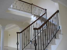 interior railings home depot colonial iron works iron interior handrails indoor wrought iron