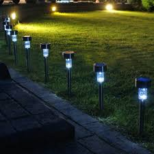 Volt Landscape Lighting Kits - costco outdoor lights string enchanted spaces solar path light