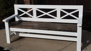 bench order wooden bench custom order refabbers