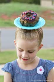 wacky hair donut hair 325 clever ideas for wacky hair day at