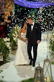 bachelor wedding lowe and catherine giudici tie the knot in a bachelor wedding