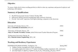 Science Teacher Resume Examples by Middle Science Teacher Resume Reentrycorps