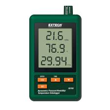 extech instruments pressure humidity and temperature data logger