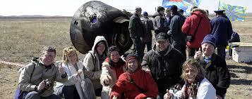 space affairs mission soyuz landing in kazhakstan program