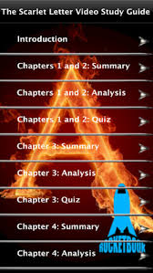 the scarlet letter video study guide on the app store