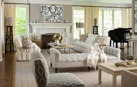 country decorating ideas for living rooms cozy white striped blue