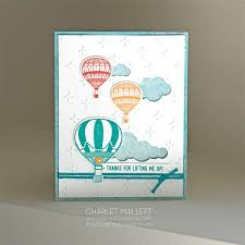 air balloon handmade card using lift me up st set from the