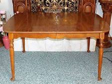 Ethan Allen Maple Furniture EBay - Ethan allen maple dining room table