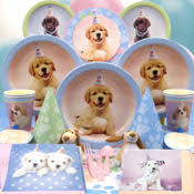 puppy party supplies pin by on puppy birthday party