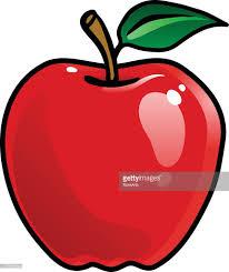 apple cartoon cartoon apple vector art getty images