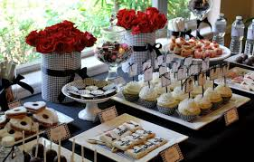 buffet table setting ideas home design and decor how to