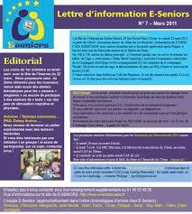 site du si e initiation au numérique des seniors et retraités actifs