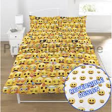 emoji duvet cover sets single u0026 double funny smiley christmas