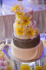 yellow grey wedding cake mondeliceblog com