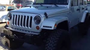 jeep jk smooth and painted mirrors with aev lift pt 1 youtube