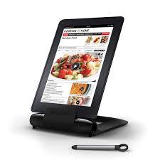 tablette pour cuisine lutrin de cuisine pour tablette i prep prepara magazine avantages