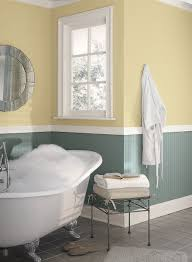 Gray And Yellow Bathroom by Yellow Bathroom Ideas Cheerful Yellow Bathroom Paint Color Schemes