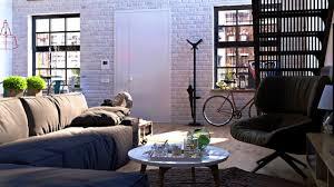 apartments inspiring marvelous industrial living room design