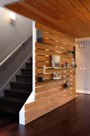Wooden Interior by Best 25 Wood Slat Wall Ideas On Pinterest Wood Partition