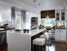 kitchen window treatments ideas 10 stylish kitchen window treatment ideas hgtv