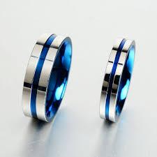 Blue Wedding Rings by Aliexpress Com Buy Keisha Lena Jewelry 316l Stainless Steel