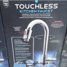 kitchen faucets touchless costco deal royal line touchless kitchen faucet 149 99 frugal