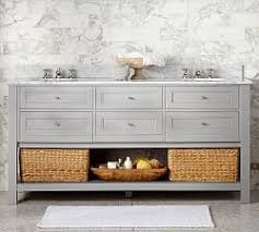double bathroom vanities pottery barn