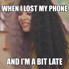 Lost Phone Meme - when i lost my phone and i m a bit late gif lostphone late