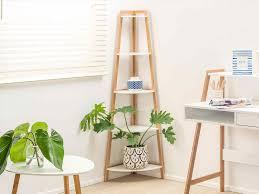 Wooden Ladder Bookcase by Bathroom Ladder Shelf Australia Full Image For Floating Shelves