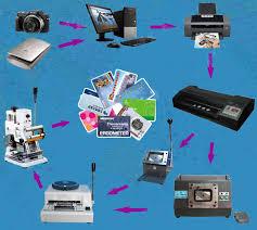 direct inkjet print pvc card kits id card maker dipvc