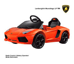 lamborghini children s car lamborghini lp700 aventador 6v electric children s battery powered