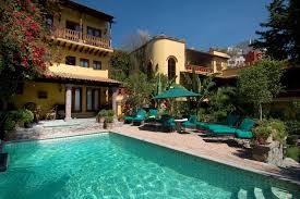 San Miguel De Allende Mexico Map by Casa Chorro San Miguel De Allende Luxury Villas