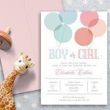 gender reveal invitation template gender reveal invitations popsugar moms