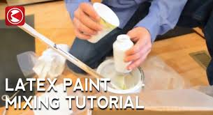 how to mix latex paint for the vfan airbrush youtube